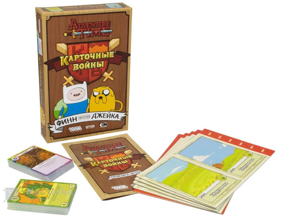 Карткові ігри фін і джейк