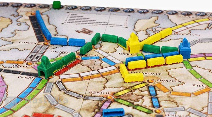 Билет на поезд: Европа / Ticket to Ride: Европа-2