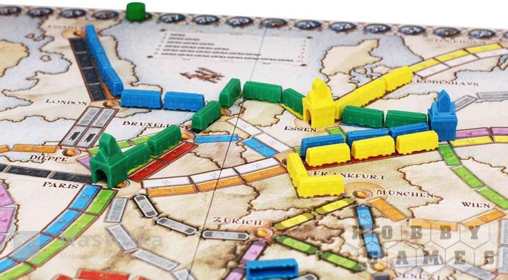 Билет на поезд: Европа / Ticket to Ride: Европа-1 от nastolka.com.ua