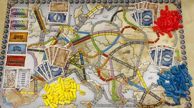 Билет на поезд: Европа / Ticket to Ride: Европа-5 от nastolka.com.ua