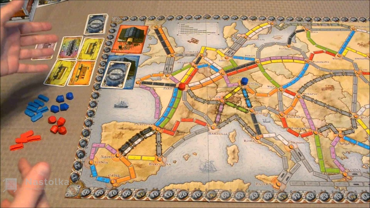 Билет на поезд: Европа / Ticket to Ride: Европа-5