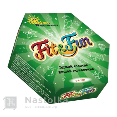 Fit and Fan 4-6 лет русский язык от nastolka.com.ua