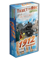 Билет на поезд: Европа 1912 / Ticket to Ride: Европа 1912